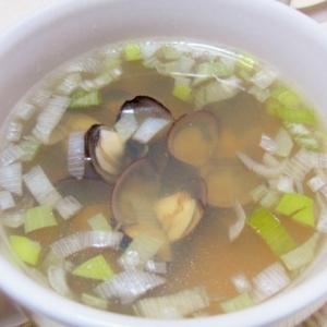 しじみの洋風スープ