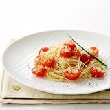 トマトの冷製スパゲッティー
