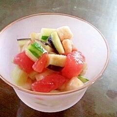 今が季節!水ナスのカラフルサラダ