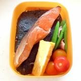 パサつかない☆お弁当の塩鮭