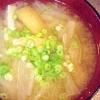 玉ねぎと大根の味噌汁