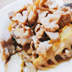 お弁当にも☆たけのこと豚肉の和風炒め