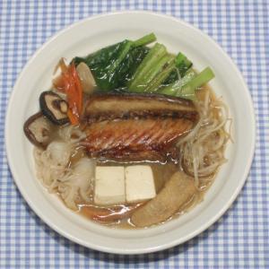 ためしてガッテン☆小松菜☆サバの干物でサバ味噌鍋