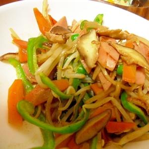 ウインナーと野菜の炒め物