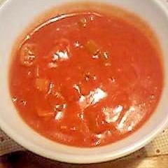 とろ〜り♪トマトクリームスープ。