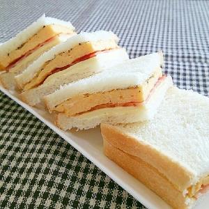 カルボナーラ風サンド