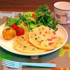 野菜嫌いのお子様に!簡単★食育ベジタブルパンケーキ