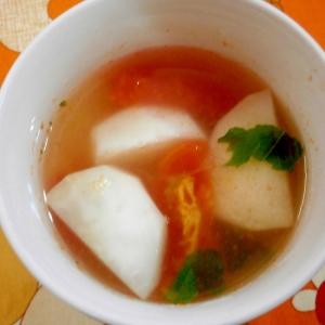 トマトとかぶのスープ