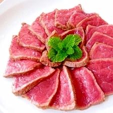 フライパンで★簡単 牛肉のたたき