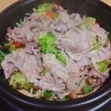 【グリル鍋】豚と野菜の重ね蒸し
