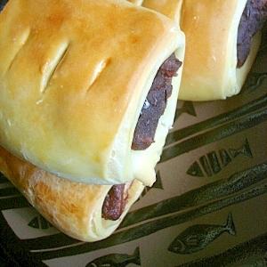 バターひかえめ・ヘルシーな豆乳デニッシュあんパン
