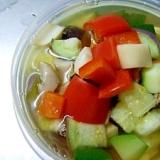 夏野菜の和風スープ