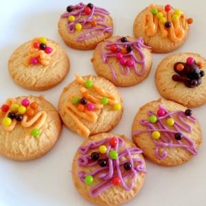 市販のクッキーで☆デコレーションクッキー