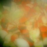 かぼちゃと大根のローレル煮