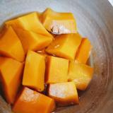 柔らかいバターナッツかぼちゃの煮物