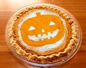 かぼちゃとヨーグルトのアメリカンパイ