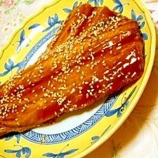 黒酢でサッパリ❤優しい味わい・サンマの蒲焼き❤
