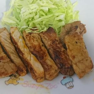 豚肉の甘辛照り焼き