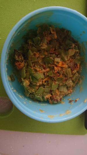 簡単麺つゆニラ玉