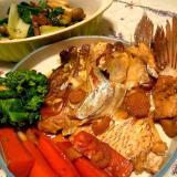バレンタインデーに♪鯛のあら煮で手料理アピール