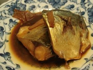 鯖の醤油煮
