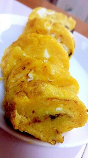 ひと工夫でお寿司屋さん風☆意外な卵焼き