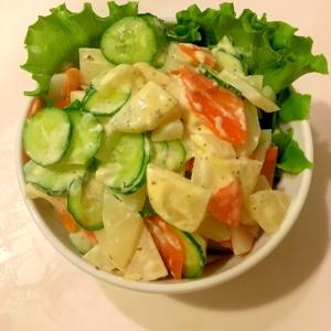 バジルパスタソースで作るポテトサラダ