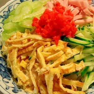 ビーフンで冷やし中華風♥キャベツダイエット