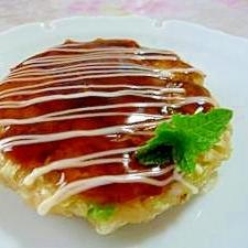 卯の花 消費レシピ★ダイエット お好み焼き