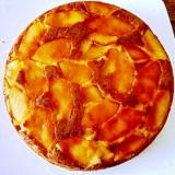 炊飯器におまかせ、にんじんとりんごとおからのケーキ