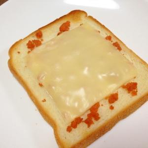 朝食に☆鮭フレークのチーズトースト