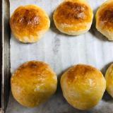 ボール一つで簡単手作りクリームチーズパン