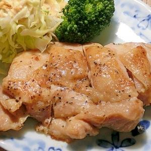 鶏もも肉のふんわりソテー