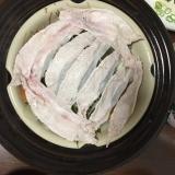 野菜と豚しゃぶ肉の蒸し鍋
