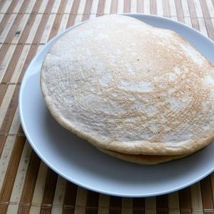 簡単、きな粉のパンケーキ