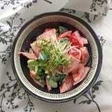 ハムとトマトときゅうりのマヨサラダ♪