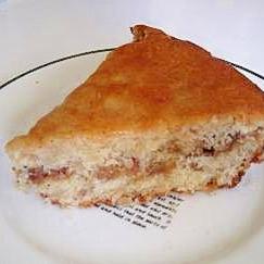 ヨーグルトナッツケーキ