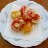 甘くて美味しい!ミニトマトの天ぷら♪