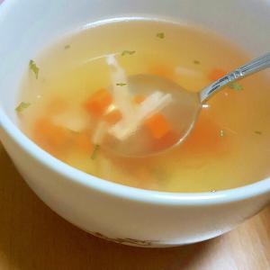 定番コンソメスープ