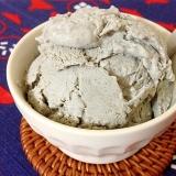 豆腐de黒ごまアイス