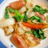 ウインナー・野菜のソテー