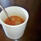 トマト缶で簡単煮るだけスープ