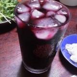 赤ワインのぶどうジュース割