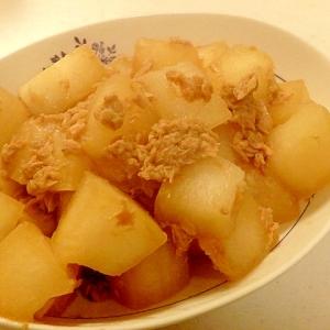 冬瓜とツナの炒め煮