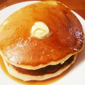 【簡単!気泡少なめ】うちのホットケーキ