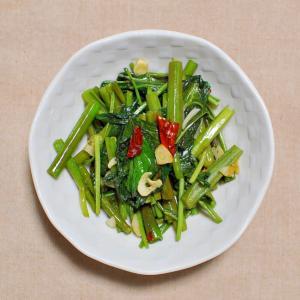 空芯菜のペペロンチーノ