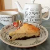 ヨーグルトで簡単ヘルシー♪オレオのチーズケーキ