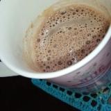 豆乳カフェモカ