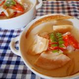 タケノコと肉団子のシチュー