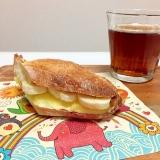バゲット クリームチーズ 栗くりーむ サンド♪